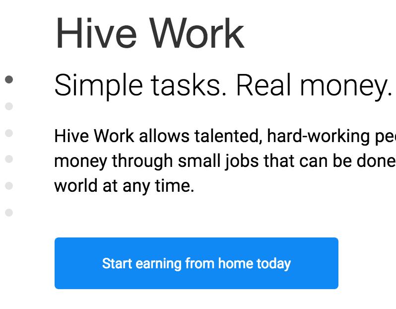 hive work, make money