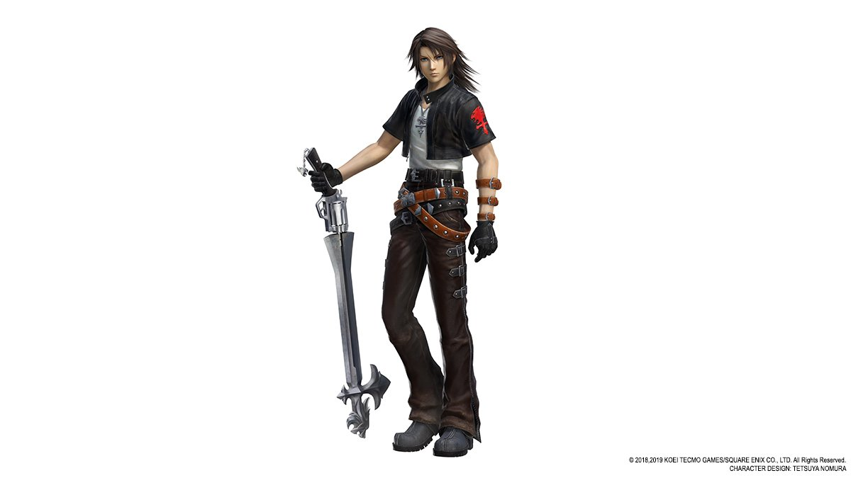 Squall will have a new outfit in Dissidia Final Fantasy NT in June 3
