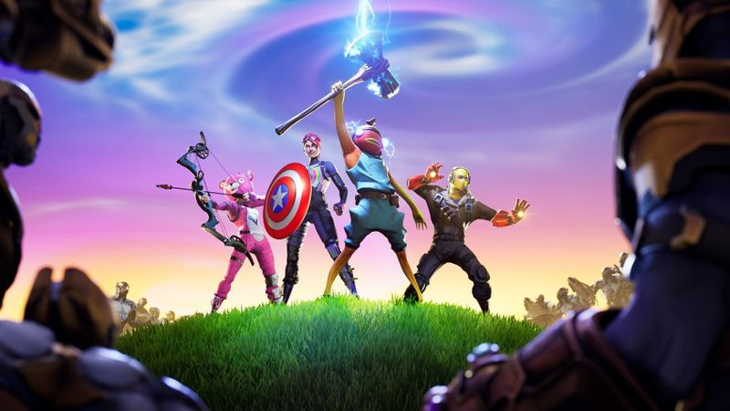 Fortnite reveal a new event with the presence of the Marvel superhero 5