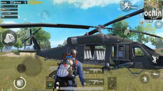 PUBG Mobile prepares to update the helicopter, RPG grenade launcher in real battle
